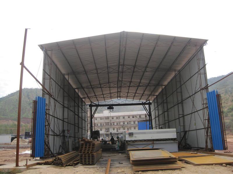 四川攀枝花观音岩水电站现场加工厂